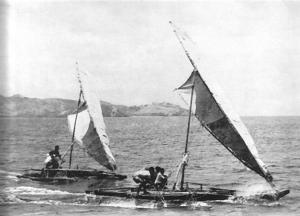 Outtriggers off Kadavu